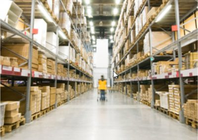 A logistics company improves network dependability and productivity